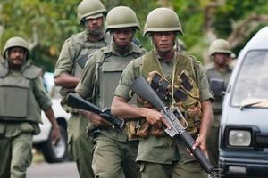Fijian Army personal. Photo / Greg Bowker