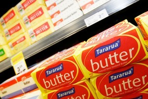 Butter and cheese prices are expected to drop 4 to 8 per cent next month. Photo / Greg Bowker
