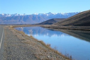 The 25km canal linking the two powerstations at Tekapo needs repairs. Photo / Grant Bradley