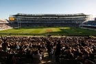 For $6735, the rugby fan secured tickets to the two semifinals, the bronze final and the grand final, all at Eden Park. Photo / Richard Robinson