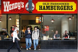 Burger bars are cheek by jowl with other fast-food outlets. Photo / Greg Bowker