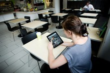 Orewa College is not the only school encouraging students to go digital. Photo / Dean Purcell