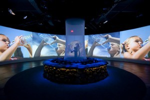 Kids won't be bored at the interactive Aqua family exhibition at Auckland Museum. Photo / Supplied