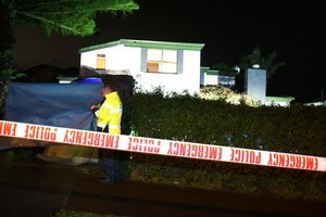 A 72-year-old man was found dead at this property in St Heliers. Photo / Greg Bowker