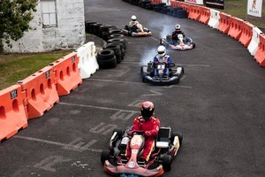 It's hot competition - these karts can go like scalded cats on steroids. Photo / Supplied