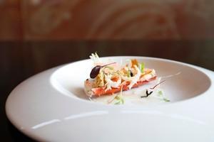 Kermadec's Chatham Island crab. Photo / Richard Robinson