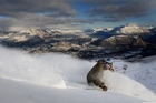 Business at skifields like Coronet Peak took a hit in June but this month is looking better. Photo / Supplied
