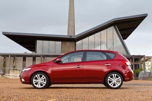 Kia's Cerato - a top-seller almost everywhere but here - owes its good looks to ex-Audi stylist Peter Schreyer.