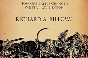 Book cover of Marathon: How One Battle Changed Western Civilisation by Richard A Billows. Photo / Supplied