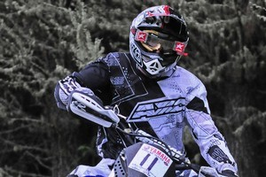 Taupo's Rory Mead (Yamaha) is the favourite to take home the national crown this weekend - bar mishaps. Photo / Supplied