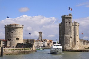 The Port of La Rochelle in France is steeped in maritime history and a great place to sample seafood. Photo / Wikimedia Commons