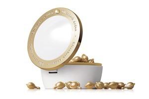Elizabeth Arden Ceramide Gold Ultra Restorative Capsules $136. Photo / Supplied