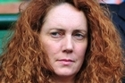 Former News International chief Rebekah Brooks. Photo / AFP