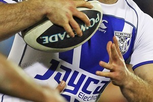 The Bulldogs will be without Michael Ennis for at least this week's game due to a neck injury. Photo / Getty Images