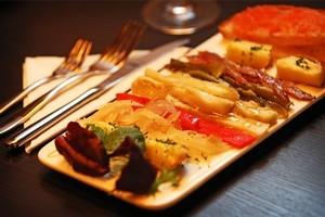 Serafin's ensalata Catalana was a delight. Photo / Greg Bowker