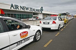 Auckland's taxi fare from the airport to the CBD is one of the most expensive in the world. Photo / Herald on Sunday