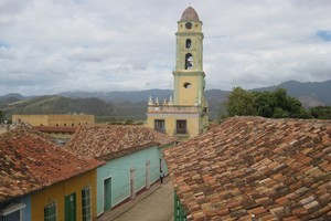 Trinidad's tiled rooftops. Photo / Jill Worrall