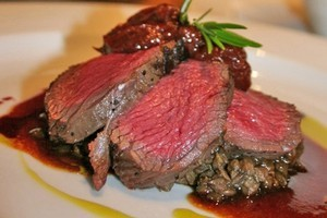 Venison paired with pale ale is a perfect match. Photo / Supplied