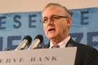 Reserve Bank Governor Alan Bollard File photo