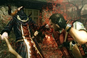 A thumping good time awaits in  The Mercenaries 3D , but the save-game feature may deliver its own headaches. Photo / Supplied