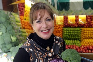 Allyson Gofton is a fan of seasonal veges. Photo / Doug Sherring