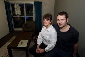 Mark Carmichael and Rachel Duffy lost a $2000 bond and a cellphone. Photo / Richard Robinson