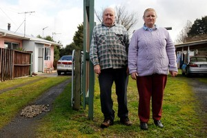 Richard and Janet Tudor's neighbour left a mental health unit and killed neighbour Diane White with a hammer. Photo / Christine Cornege