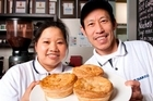 Rosalina and Bill Liem of Pukekohe's Greenland Cafe. Photo / Bruce Jarvis
