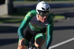 Gordon McCauley will be competing in Ironman NZ next year. Photo / APN