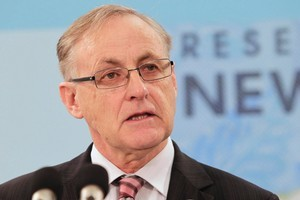 Reserve Bank Governor Alan Bollard's words will be closely studied. Photo / Mark Mitchell
