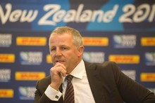 New Zealand rugby great Sean Fitzpatrick. Photo / Richard Robinson