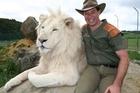 Craig Busch at Zion Wildlife Gardens. Photo / file