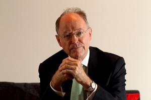 Don Brash has taken over the helm of a party with 'many challenges internally'. Photo / Janna Dixon