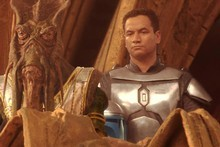 Temuera Morrison in 'Star Wars Episode II'. Photo / Supplied