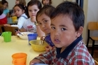 School breakfasts seem to make children more settled but have little effect on learning, research claims. Photo / APN