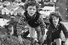 In the safer times of the 70s kids could roam free - and these young brothers had the ultimate territory for adventure. Photo researcher / Emma Walter