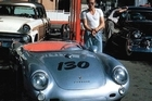 James Dean lived fast and died young in his Spyder. Photo / File