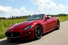 Maserati now offers an enhanced sport version of the GranCabrio. Photo / Supplied