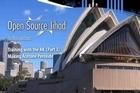 A handout image of the Sydney Opera House in the English-language magazine 'Inspire', reportedly published by Al Qaeda. Photo / AFP / HO/ Al-Malahem Media Foundation