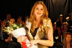 Last year's Westpac Young Fashion Designer competition winner Jess Britten. Photo / Supplied