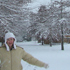 Snow in Belfast, Christchurch. Photo / Sveta Edwards