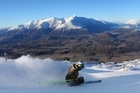 Coronet Peak offers world-class runs as well as family friendly slopes. Photo / Miles Holden