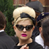 Kelly Osbourne arrives at Golders Green Crematorium in London. Photo / AP