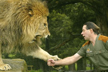 Lion Man Craig Busch's animal welfare credentials have been called into question. Photo / Brett Phibbs