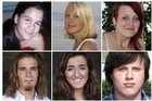 Norway police released more names of the victims of the Norway shooting spree. Kiwi victim Sharidyn Svebakk-Bohn is pictured, top left. Photo . AFP