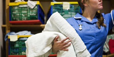 Only two towels per patient, says the Linen Update. Photo / Thinkstock