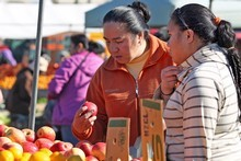 Otara offers culinary delights, market-style. Photo / Natalie Slade