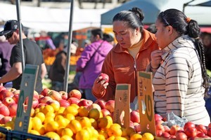Otara offers culinary delights, market-style. Photo / Natalie Slade