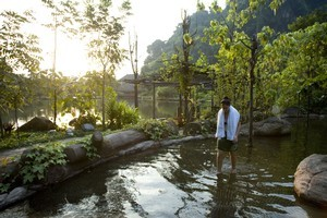 The Banjaran Spa Resort near Ipoh, Malaysia. Photo / Dean Purcell
