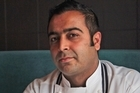 Sid Sahrawat, owner & chef of Sidart Restaurant. Photo / Doug Sherring